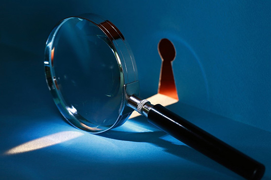 magnifying glass investigative services